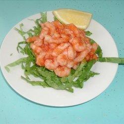 Shrimp in Hot Cocktail Sauce recipe