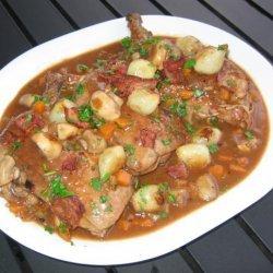 My Coq Au Vin recipe