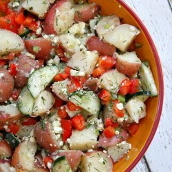 Dilled Potato Salad With Feta recipe