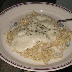 Alfredo Sauce With Crab Meat recipe