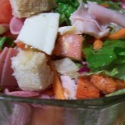 Submarine Sandwich Salad recipe