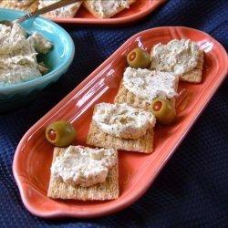Pesto Cream Cheese Dip recipe