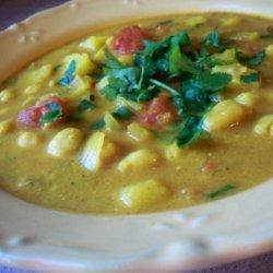 Moroccan Spiced Chickpea or Garbanzo Soup recipe