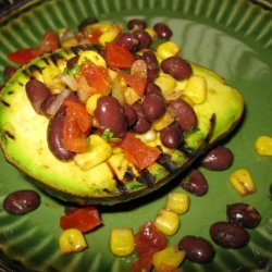 Southwest Grilled Avocados recipe