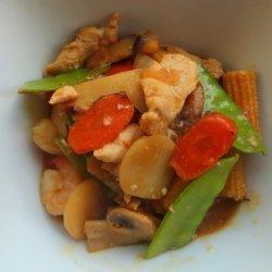 Moo Goo Gai Pan II recipe