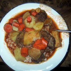 Beef and Beer Stew With Root Vegetables recipe