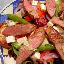 Greek Lamb Salad recipe