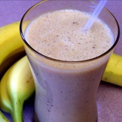 Banana Passion Fruit Smoothie recipe