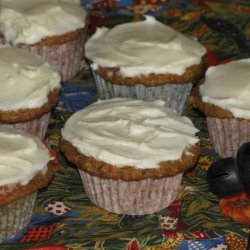 Martha's Carrot Cupcakes With Cream Cheese Frosting recipe