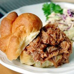 BBQ Pork for Sandwiches recipe