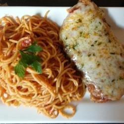 Tomato Chicken Parmesan recipe