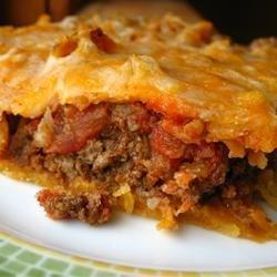 Taco Pie recipe