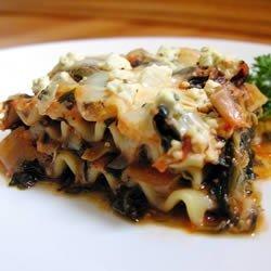 Artichoke Spinach Lasagna recipe
