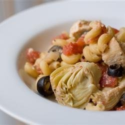 Greek Chicken Pasta recipe