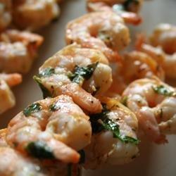 Grilled Marinated Shrimp recipe