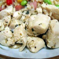 Chicken Scampi II recipe