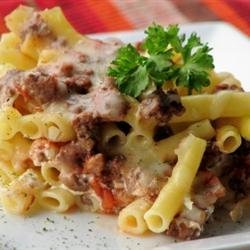 Baked Ziti IV recipe