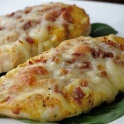 Easy Honey Mustard Mozzarella Chicken recipe