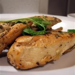 Slow Cooker Lemon Garlic Chicken II recipe
