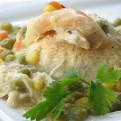 Chicken and Biscuit Casserole recipe