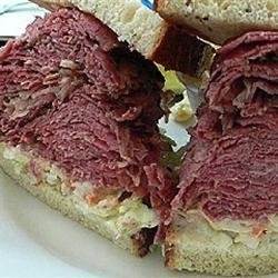 Slow Cooked Corned Beef for Sandwiches recipe