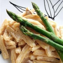 Lemon Cream Pasta with Chicken recipe