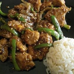 Amber's Sesame Chicken recipe