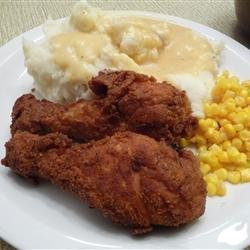 Fried Chicken with Creamy Gravy recipe