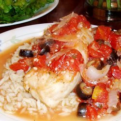 Fish Fillets Italiano recipe