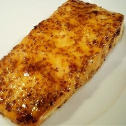 Salmon with Brown Sugar Glaze recipe