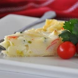 Crab Quiche I recipe