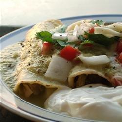 Authentic Enchiladas Verdes recipe