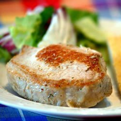 Stuffed Pork Chops III recipe