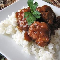 The Best Sweet and Sour Meatballs recipe