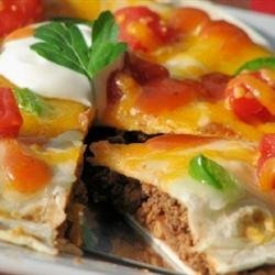 Jimmy's Mexican Pizza recipe