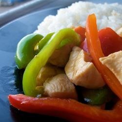 Sweet and Sour Chicken III recipe