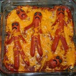 Chili Dog Casserole I recipe