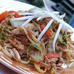 Yakisoba Chicken recipe