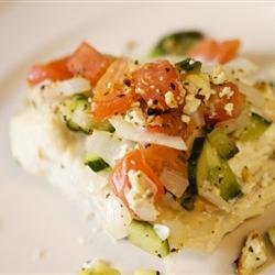 Baked Halibut Steaks recipe