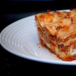 Easy Lasagna I recipe