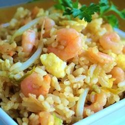Shrimp Fried Rice II recipe