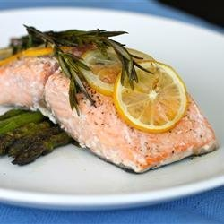 Lemon Rosemary Salmon recipe