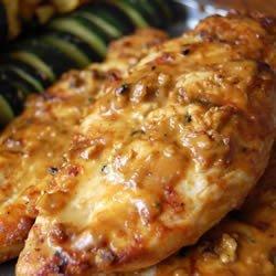 Grilled Peanut Chicken recipe