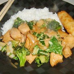Chicken Broccoli Ca - Unieng's Style recipe