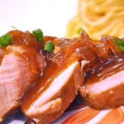 Slow Cooker Teriyaki Pork Tenderloin recipe