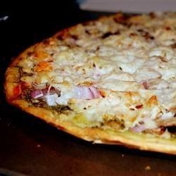 Chicken Pesto Pizza recipe