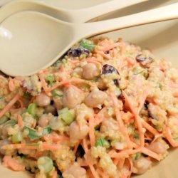 Curried Quinoa Salad With Yogurt-Cumin Dressing recipe