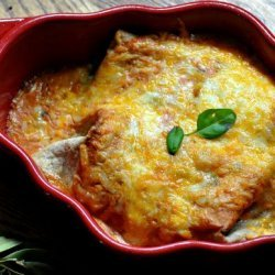 Spinach and Cream Cheese Enchiladas recipe