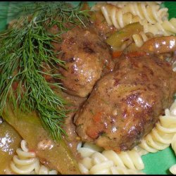 Stroganoff Laibchen (Small Stroganoff Loaves) recipe