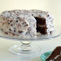 Gluten Free German Chocolate Cake With Vegan Frosting recipe